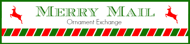 Merry Mail Ornament Exchange Banner